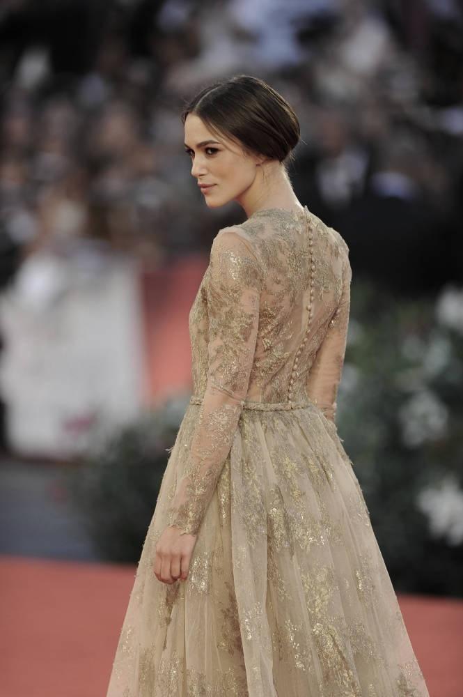 Keira Knightley at the Venice Film Festival