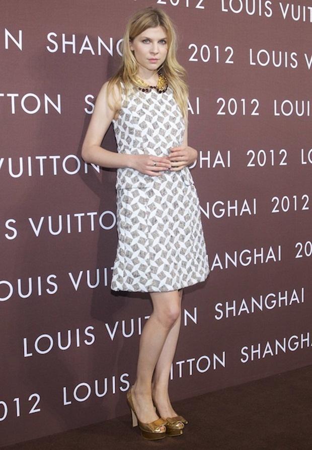 Clémence Poésy in Louis Vuitton.