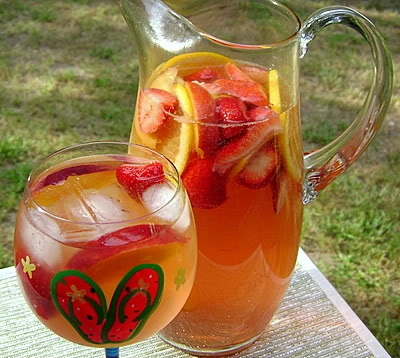 White Zinfandel Sangria | Kristin's Bridal Shower | Pinterest
