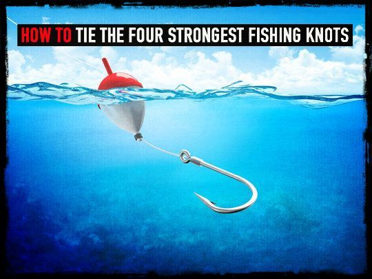 Strongest knot just b cause for Strongest fishing knots