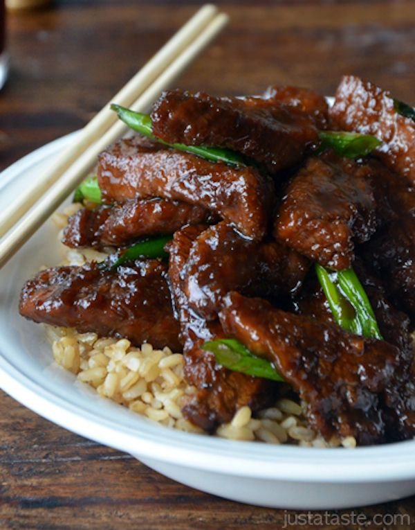 MONGOLIAN BEEF | Favorite!! Chinese Recipes!! | Pinterest