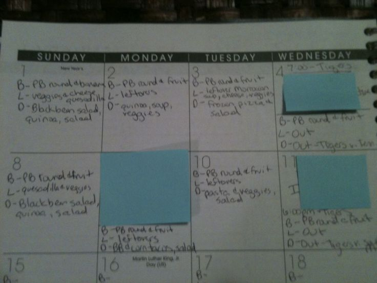 How to Plan Meals: Frugal, Healthy Menu Planning
