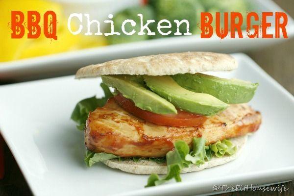 BBQ Chicken Burgers | Food | Pinterest