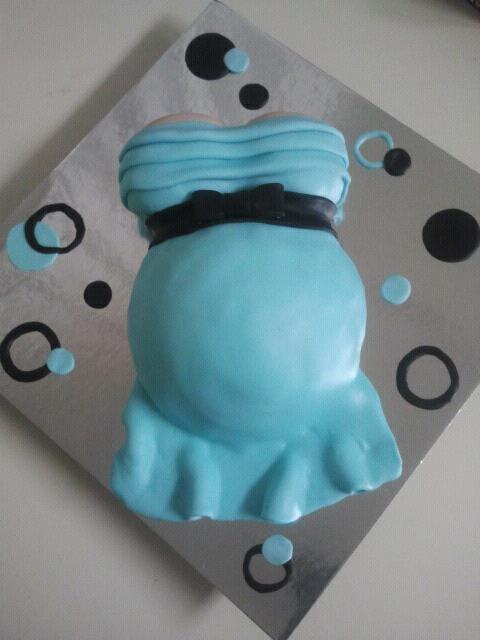 Pinterest Baby Shower Belly Cakes