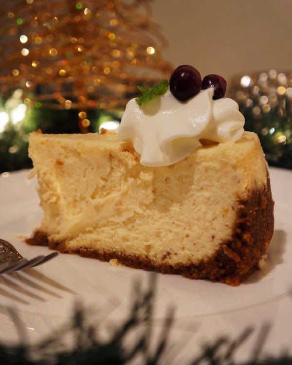 Spiced Cheesecake with Gingersnap Crust | (Cup)cakes | Pinterest