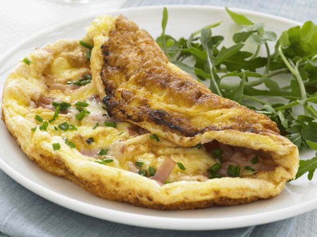 soufflé omelette | food | Pinterest