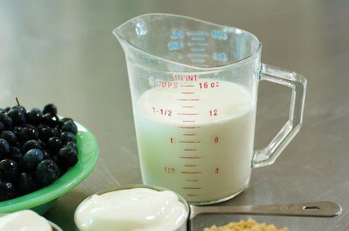 Yogurt Cream and Berries | Recipe