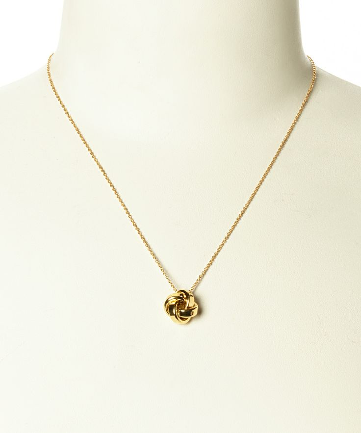 knot pendant necklace jewelry