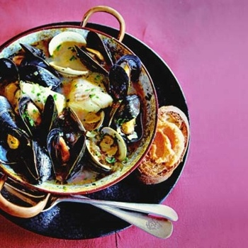 New England Bouillabaisse For One | Soups & Stews | Pinterest