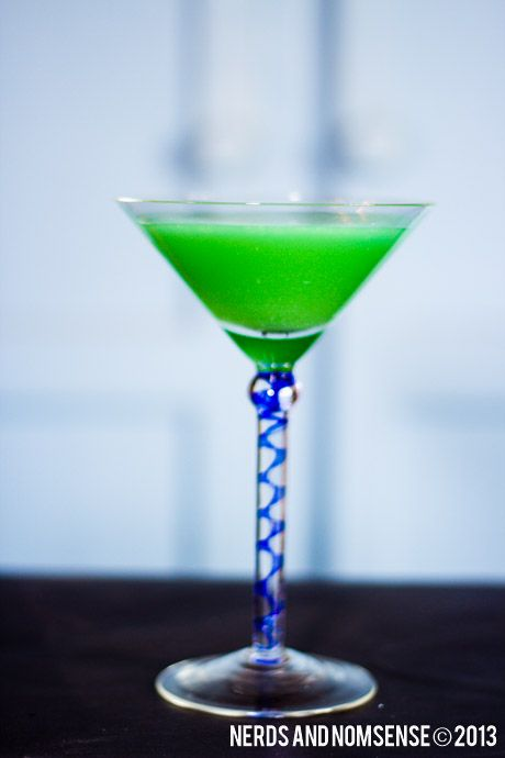 Sonic Screwdriver Cocktail | Drinks | Pinterest