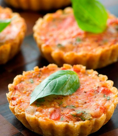 tomato-tartlets | Mmmm | Pinterest