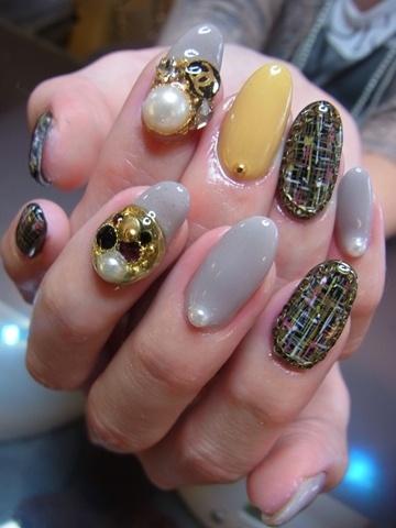 Japanese nail design | Nail Art | Pinterest