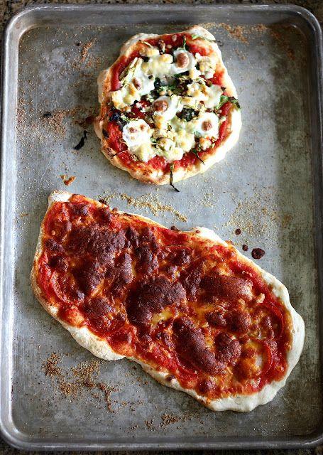 Jim Lahey's No Knead Pizza Crust Recipe | Veggie Based | Pinterest