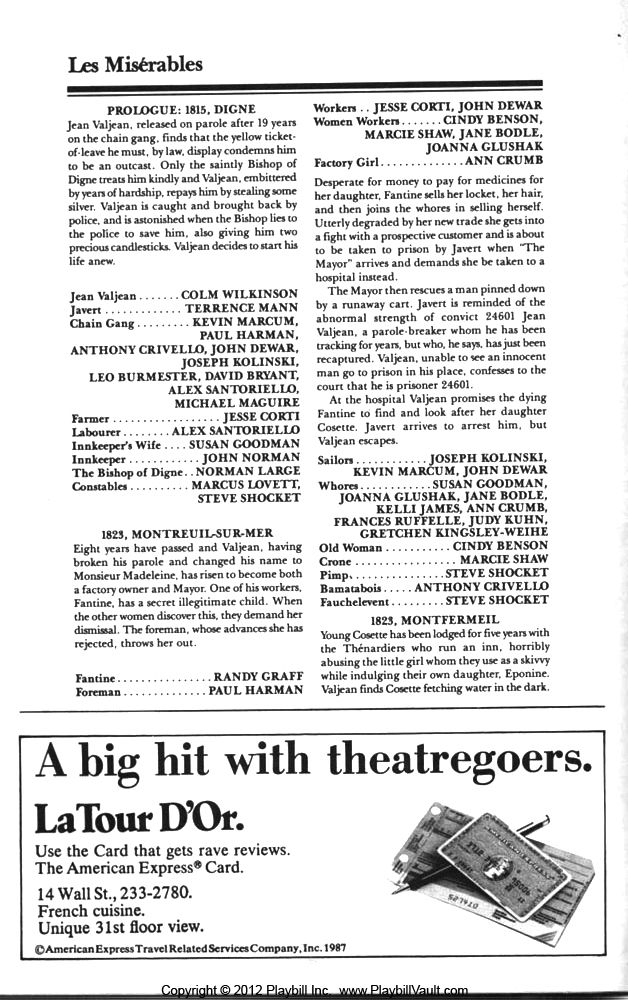 Pin by Paul Jerome on ---A LOOK AT===>BROADWAY PLAYBILL ...