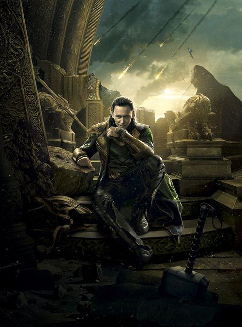 """Loki poster (""""Thor: The Dark World"""")   Avengers   Pinterest"""