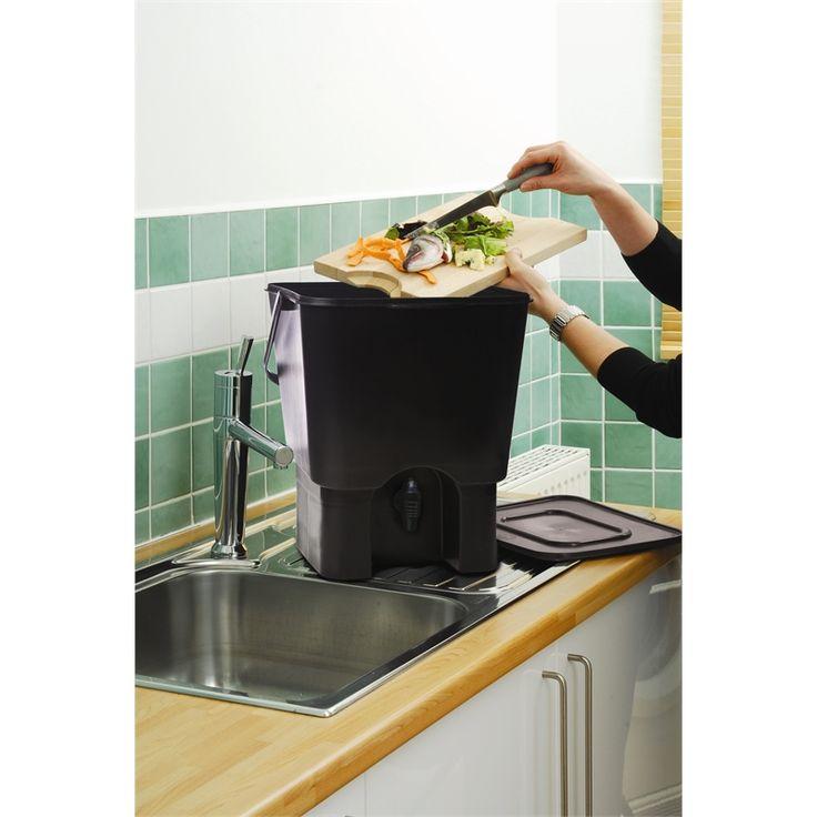 diy indoor compost bin the image kid. Black Bedroom Furniture Sets. Home Design Ideas