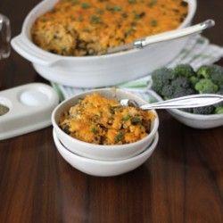 Buffalo Chicken Quinoa Bake | Casseroles | Pinterest