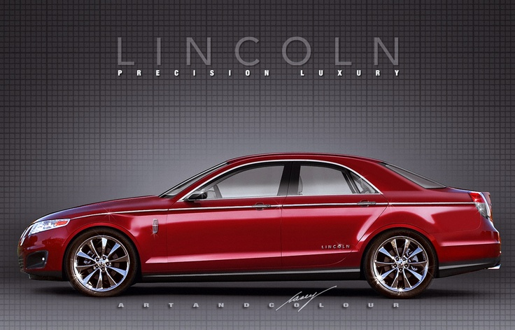 2015 Lincoln MKS MkII (Concept Car) | Lincoln: 2003 and Beyond | Pint