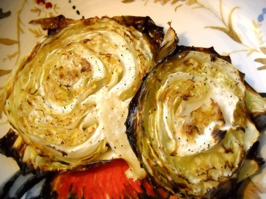 Roasted Cabbage Wedges | Food | Pinterest
