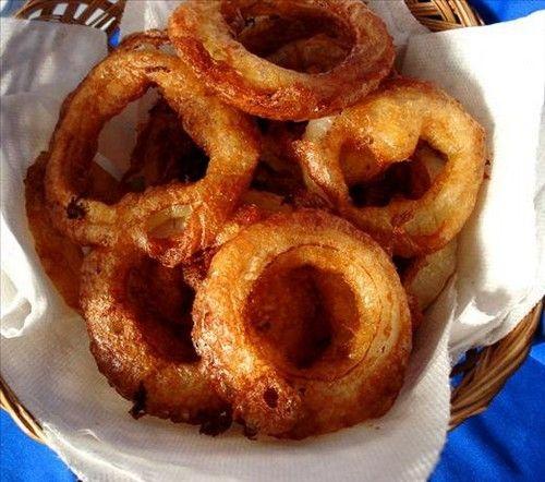 Buttermilk batter fried onion rings | Prized Comfort Food | Pinterest