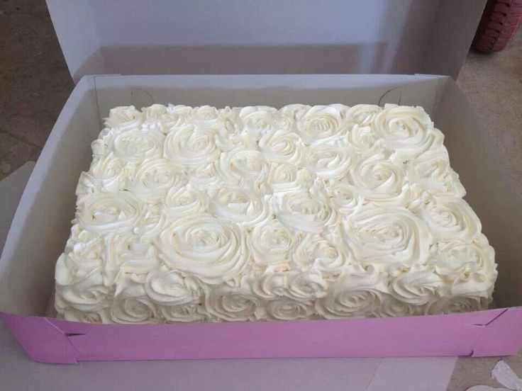 Rectangle Cake Decoration Ideas : Sheet cake Decorated sheetcakes Pinterest