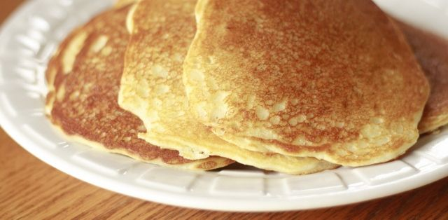 Gluten Free Lemon Cream Cheese Pancakes | Yummy Yummy | Pinterest