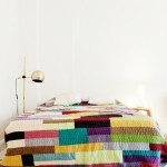 bedspread white wall love