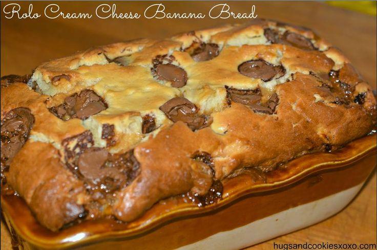 Rolo Cream Cheese Banana Bread   Bountiful Breads   Pinterest