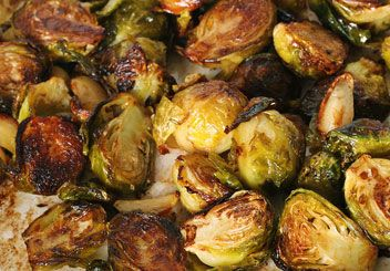 Roasted Lemon & Mustard Brussels Sprouts | Food/recipes | Pinterest
