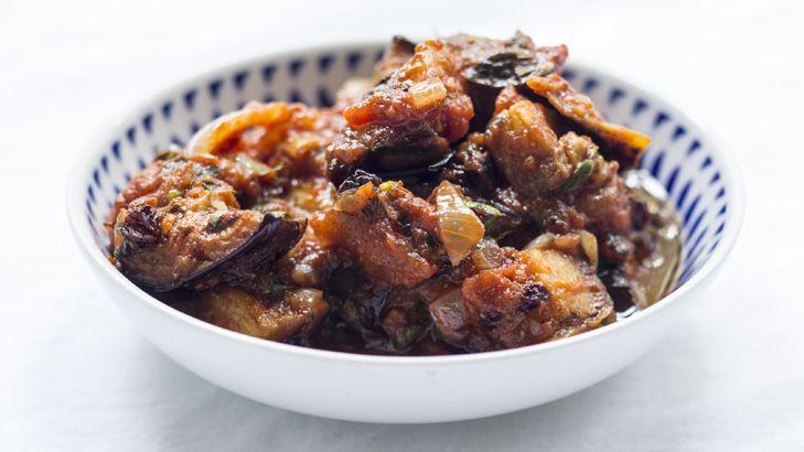 Spiced Eggplant salad | Salads & Vegetables | Pinterest