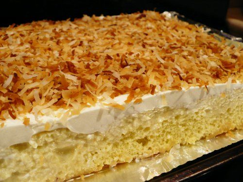Tres Leches Coconut Cake | Favorite Recipes | Pinterest