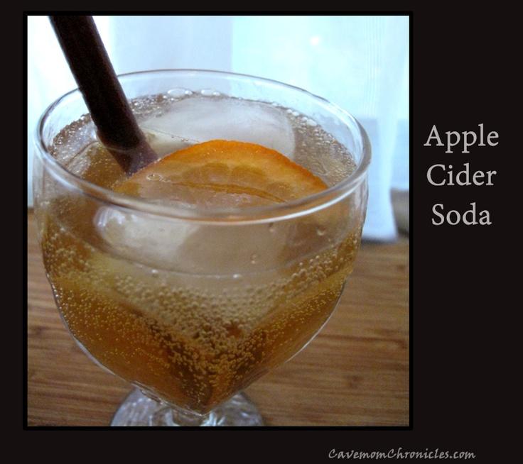 Apple Cider Soda | Paleo/Primal Misc. | Pinterest