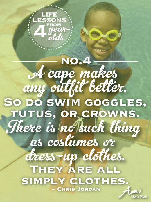 Life Lessons from a 4-Year-Old
