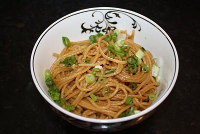 Garlic scallion noodles...because sometimes you just want noodles!