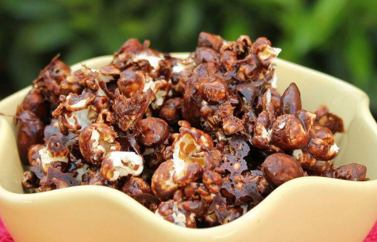 Chocolate Almond Popcorn | Popcorn | Pinterest