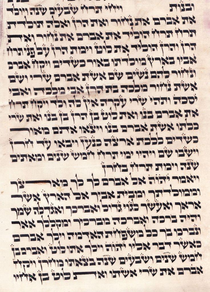 2 Times Yahweh Tetragrammaton Hebrew Bible Torah Genesis