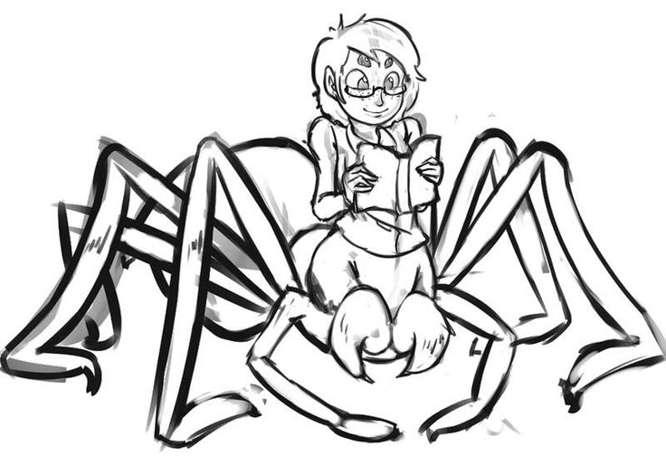 spider girl coloring pages - photo#14