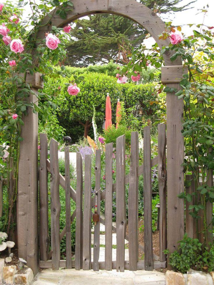 gate arbor Garden Pinterest