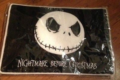 Nightmare Before Christmas Jack Skellington Floor Mat Rug | eBay