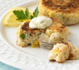 Thrifty Foods - Recipe - Cod, Corn and Potato Cakes