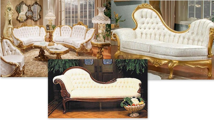 I love White victorian furniture