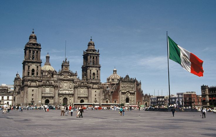 Zócalo, México, D.F. | México D.F. // Mexico City | Pinterest