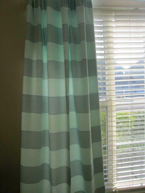 Curtain Valance Window Curtain Designer Aqua by CottageHomeCouture, $ ...