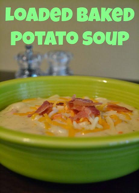 baked potato soup | Yummyyy | Pinterest