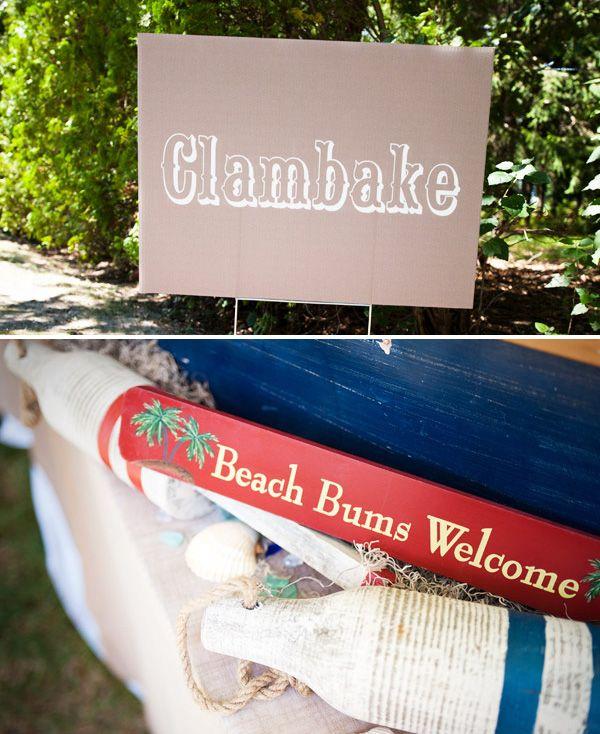 Festive Summer Clambake & Family Reunion