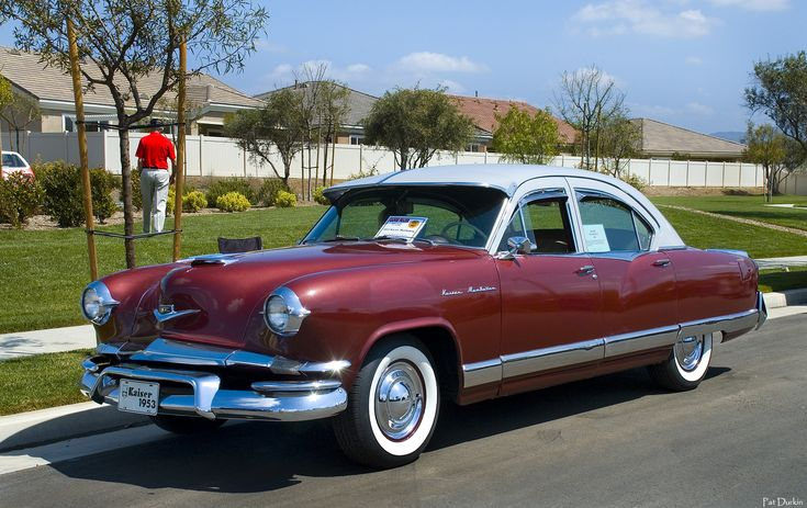 1953 kaiser manhattan four door sedan henry j kaiser