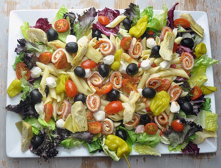 antipasto pasta salad | salad frenzy | Pinterest