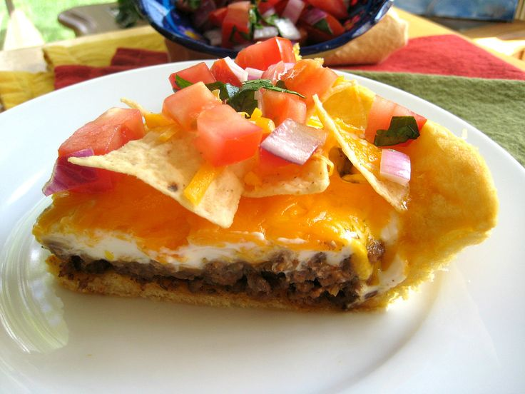 Taco Pie | Recipes Beef | Pinterest