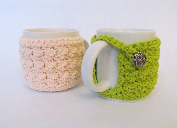 CROCHET PATTERN: textured cup cozy - permission to sell finished item ...