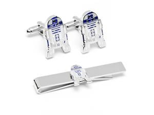 Star Wars R2D2 Cufflinks and Tie Bar Gift Set, I wonder if they have